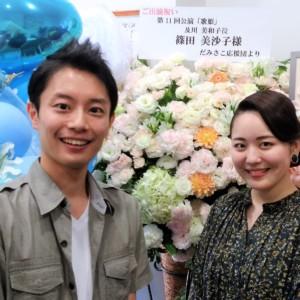 女優の篠田美沙子さんが出演された舞台を観ました